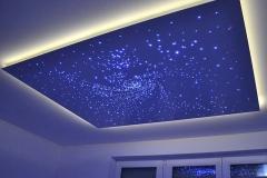 Натяжные потолки - звёздное небо 3