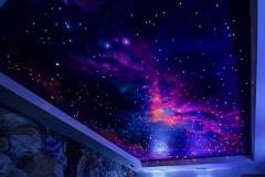 Натяжные потолки - звёздное небо 4