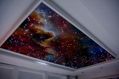Натяжные потолки - звёздное небо 5