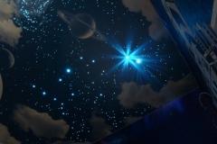 Натяжные потолки - звёздное небо 7