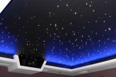 Натяжные потолки - звёздное небо 8