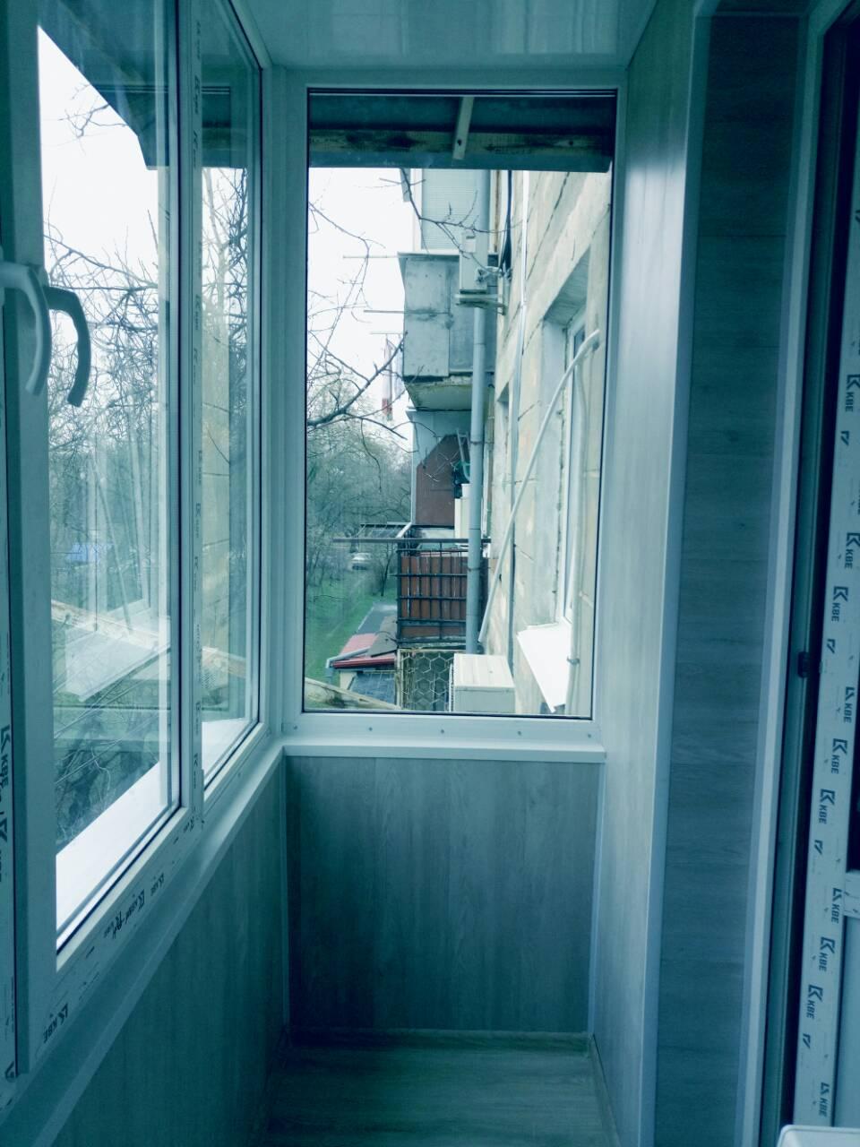 Внутренняя отделка балконов Тирасполь После 1