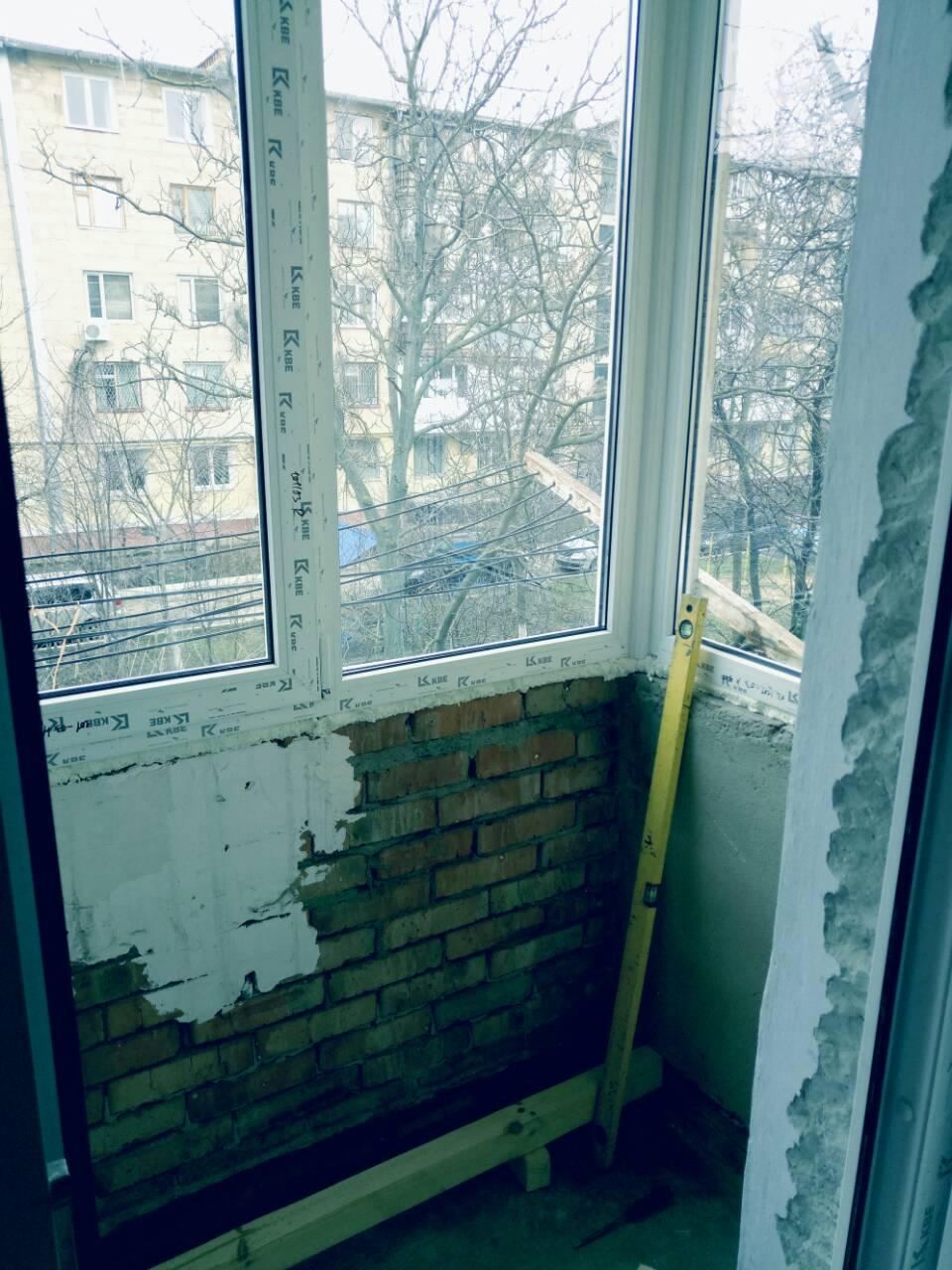 Внутренняя отделка балконов Тирасполь После 10