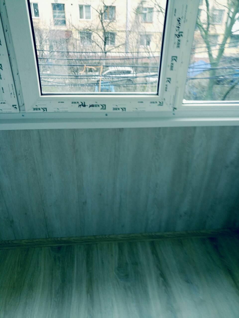 Внутренняя отделка балконов Тирасполь После 2