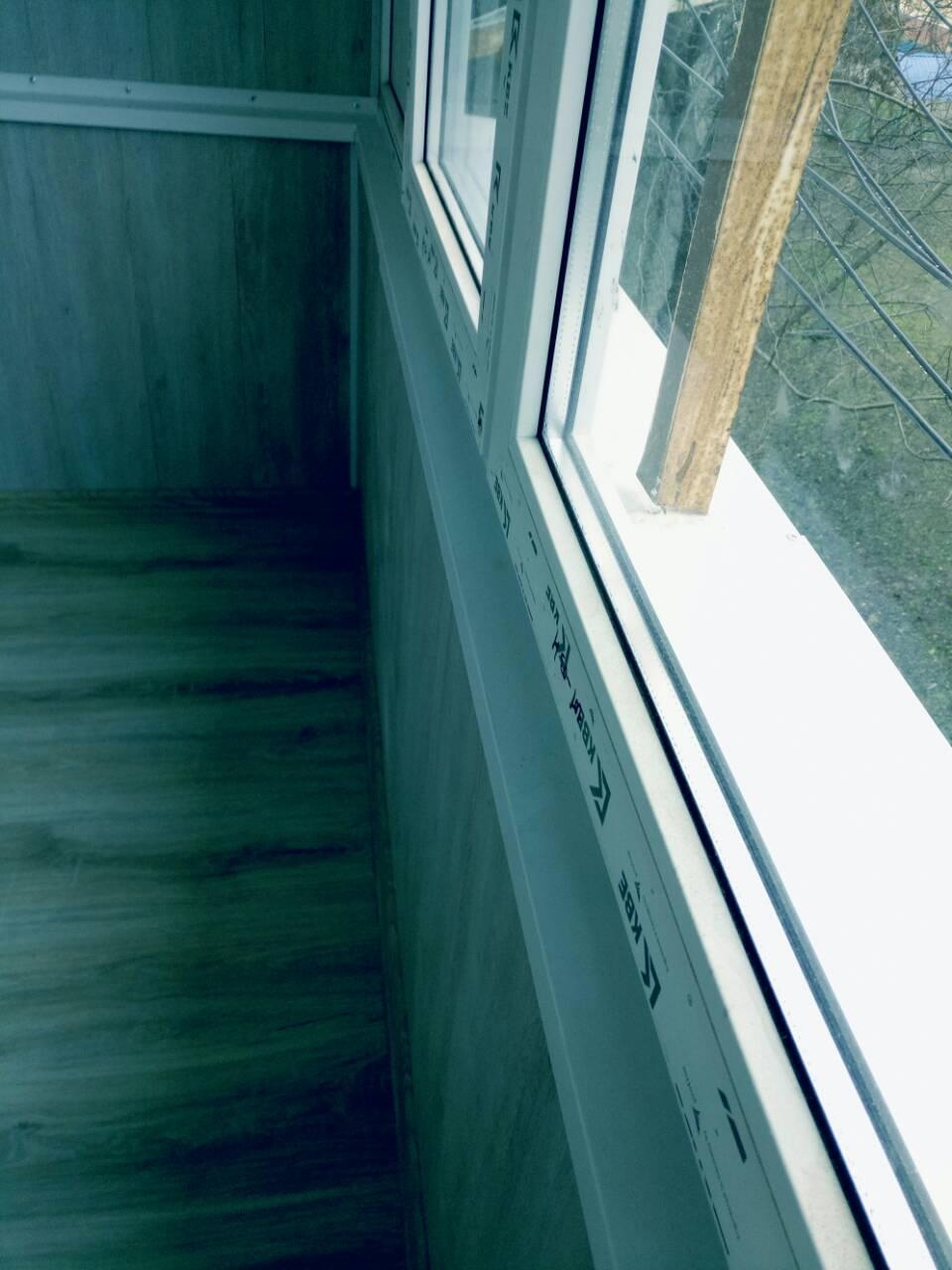 Внутренняя отделка балконов Тирасполь После 5