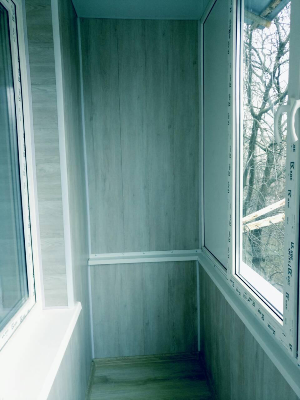 Внутренняя отделка балконов Тирасполь После 6