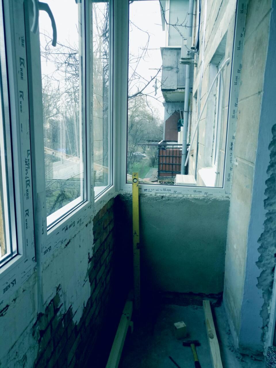 Внутренняя отделка балконов Тирасполь 3