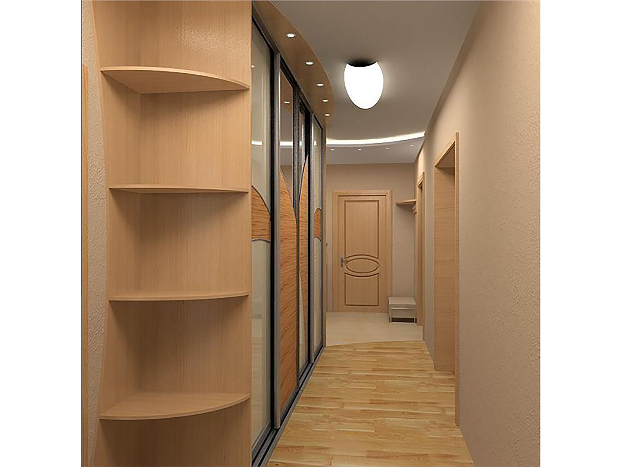"Дизайн узкого коридора."" - карточка пользователя dolzhenkova."