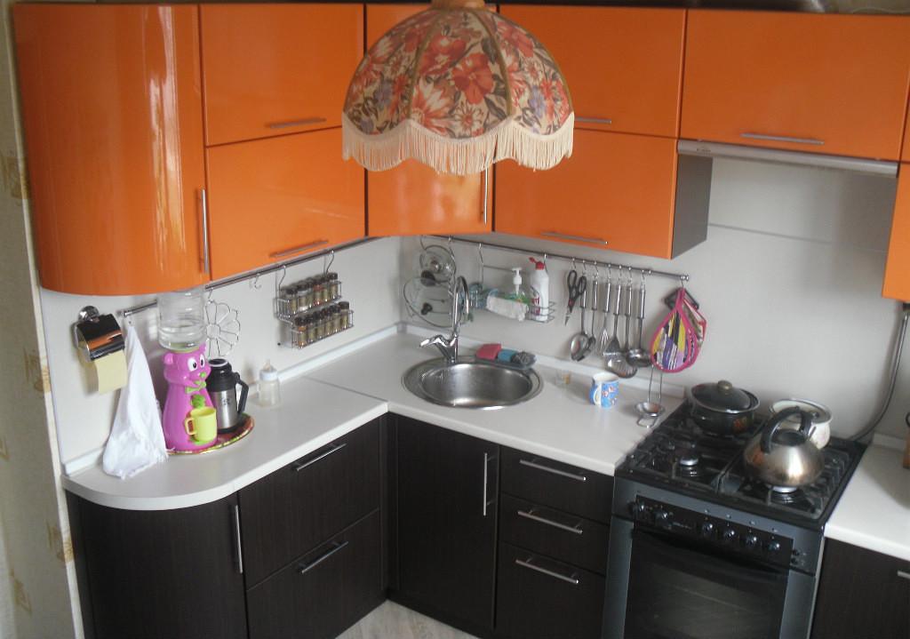 кухни в хрущёвке 1