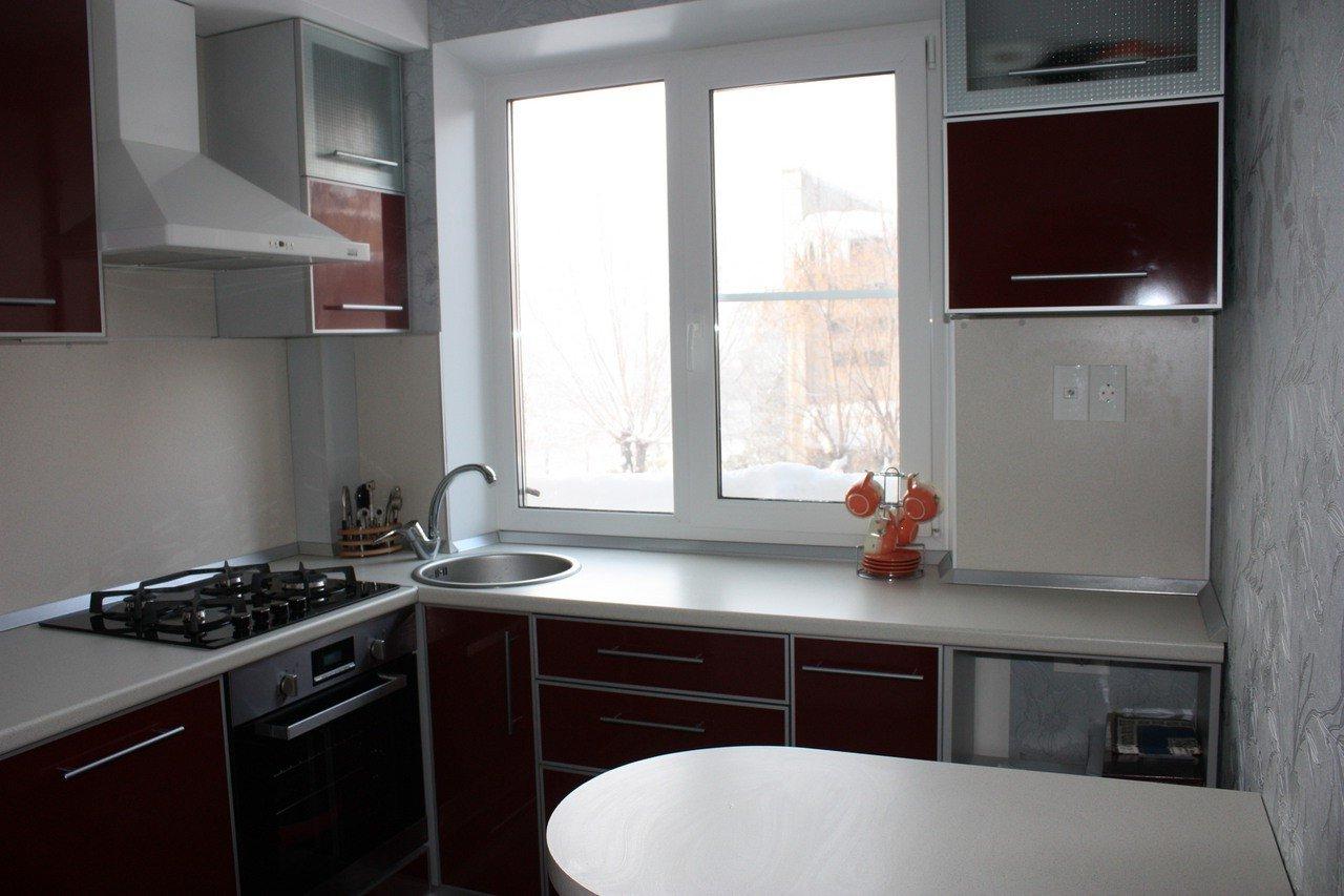кухни в хрущёвке 10