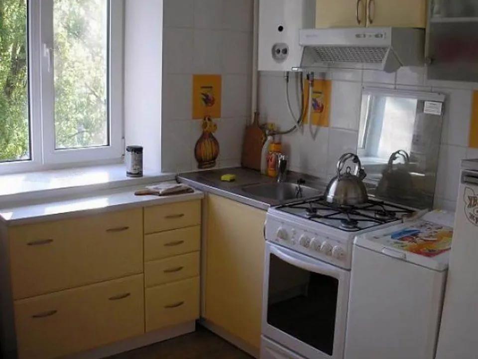 кухни в хрущёвке 5