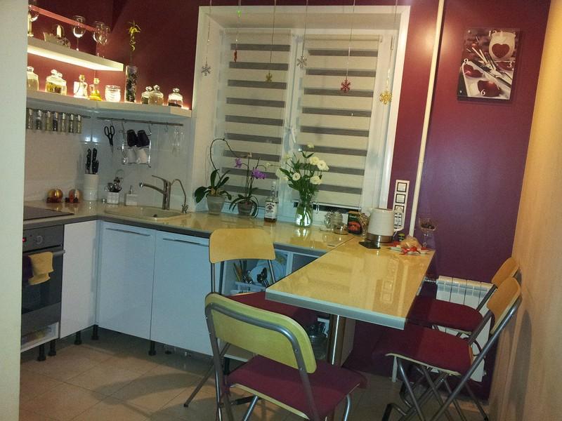 кухни в хрущёвке 8