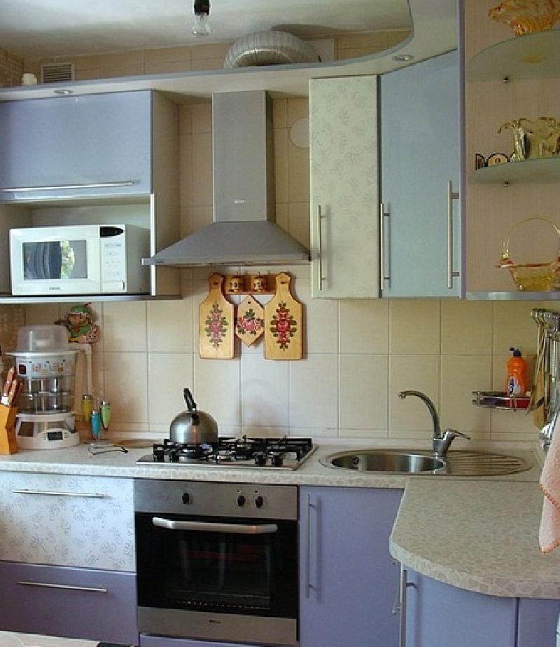 кухни в хрущёвке 9