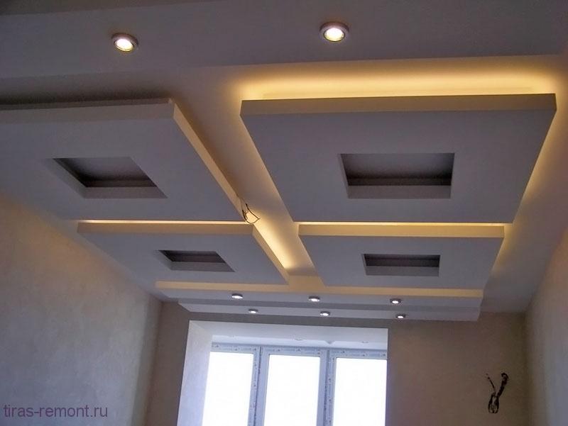 гипсокартоновый-потолок19