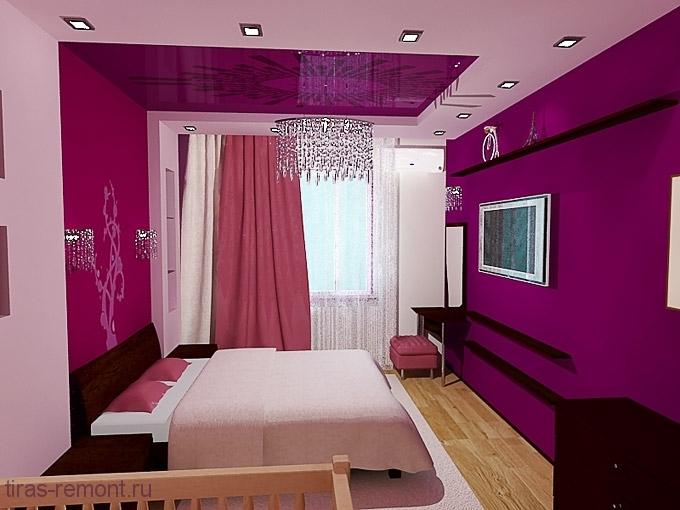 Ремонт спальни в квартире своими руками фото