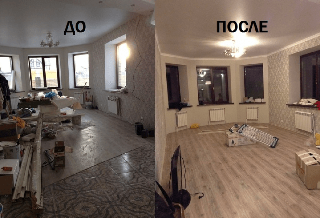 квартира до ремонта фото и после
