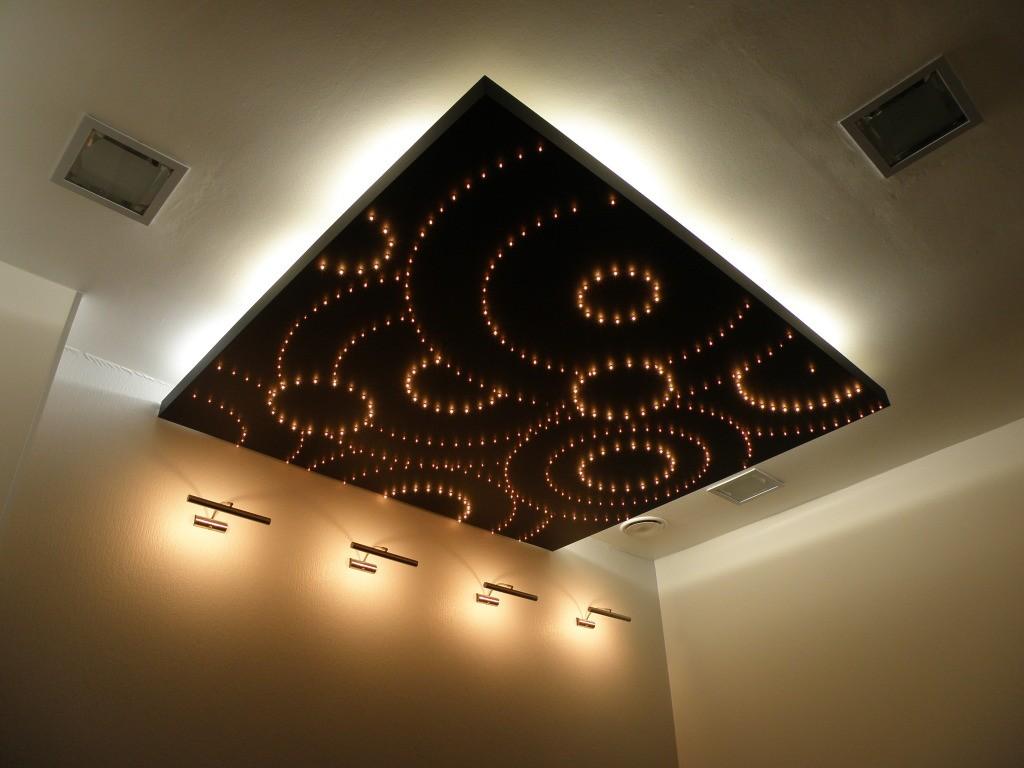 подсветка для натяжного потолка
