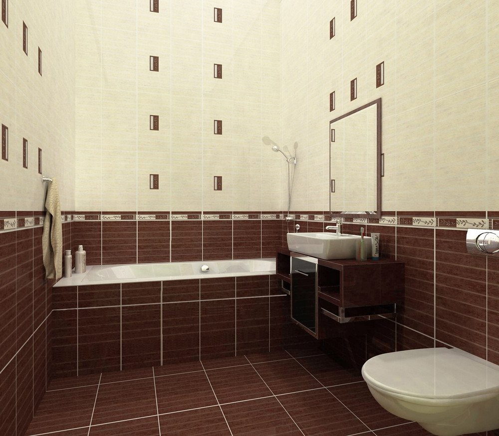 Кафель в ванной и ремонт санузла