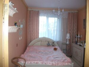 Спальня хрущёвка 1