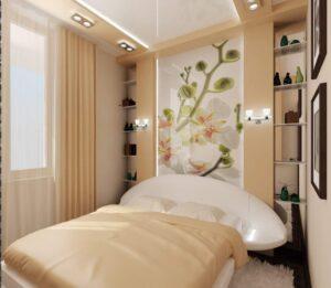 Спальня хрущёвка 3