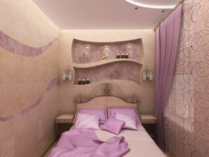 Спальня хрущёвка 7